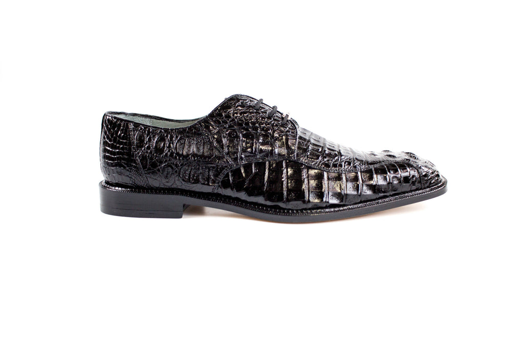 Chapo Black Hornback Belvedere Shoes