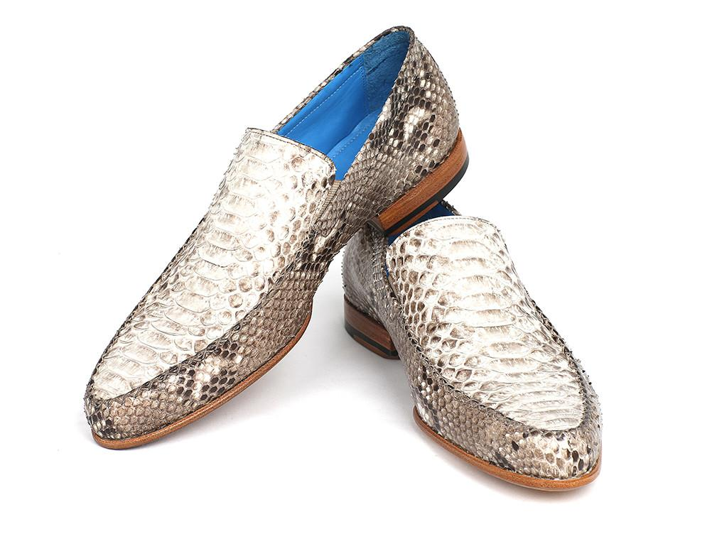 Men's Natural Genuine Paul Parkman Python Loafers