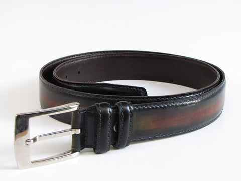 Belvedere White Crocodile Leather Belt