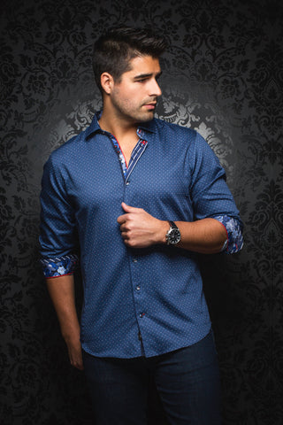 Monteverdi Light Blue Au Noir Shirt