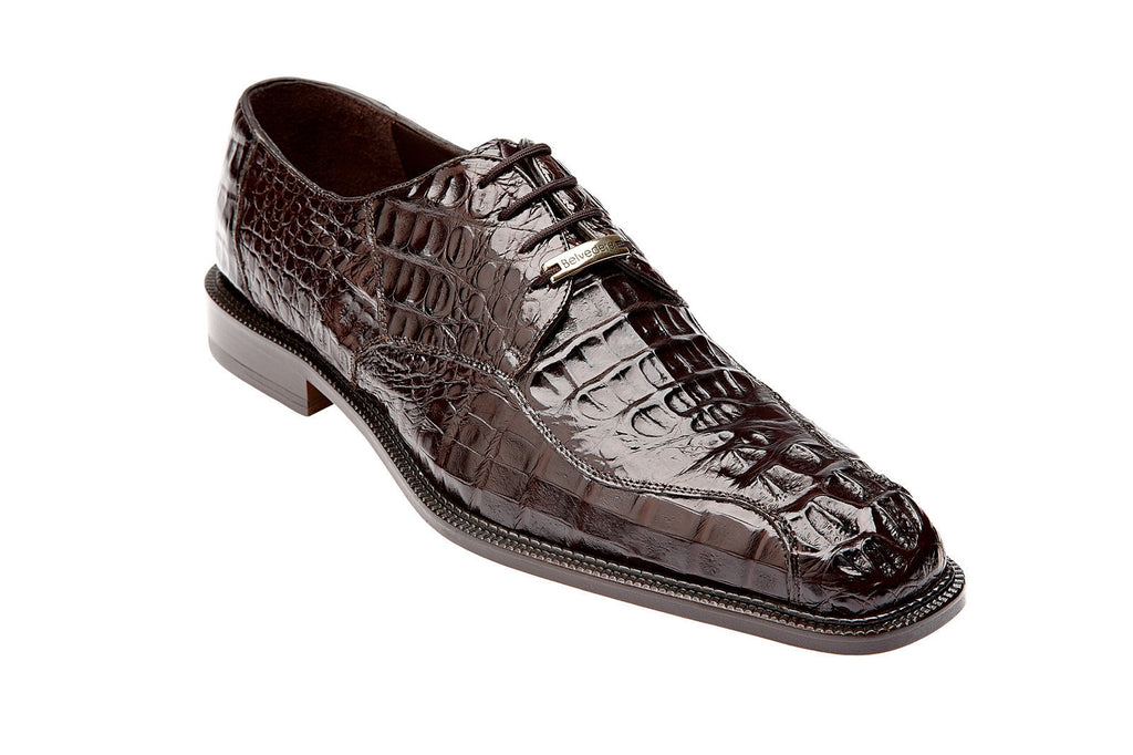Chapo Brown Hornback Belvedere Oxford Shoes
