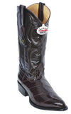 J-Toe Genuine Eel Skin Los Altos Boots