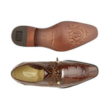 Lorenzo Peanut Alligator Belvedere Shoes