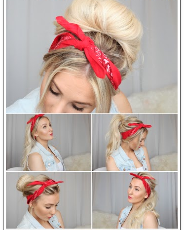 Summer Pin Up Headbands