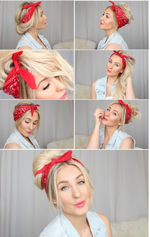 Credit: howtochic.blogspot.ca/2014/04/bad-hair-day-bandana-hairstyles.html