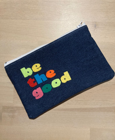 be the good Zipper Pouch
