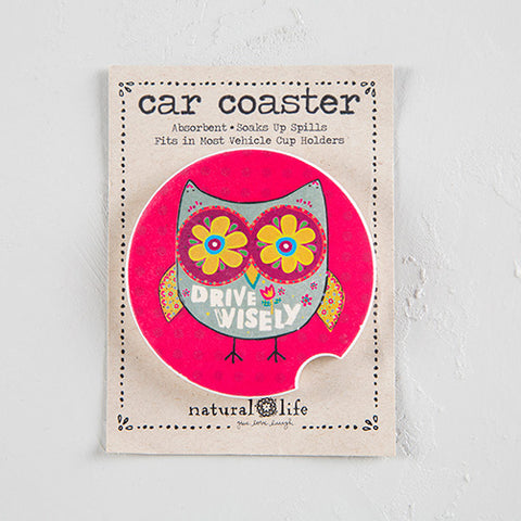 """Drive Wisely"" Car Coaster"