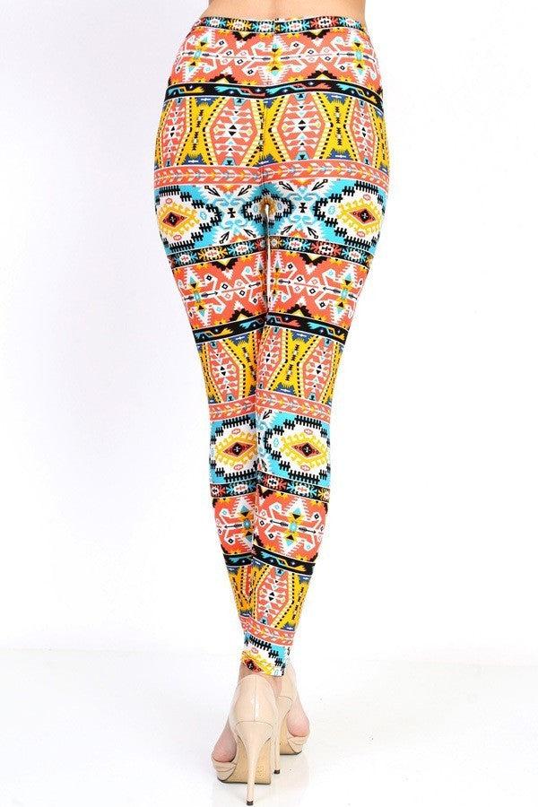 967ced68cf792 Ethnic Print Leggings – The Boxcar