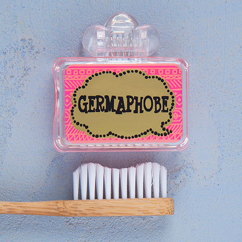 """Germaphobe"" Toothbrush Cover"