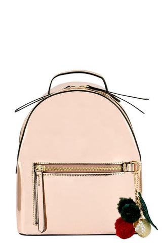 Designer Metallic Backpack