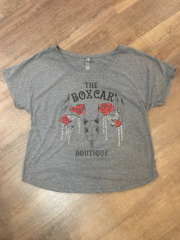 "Plus Size ""The Boxcar"" Dolman Top"