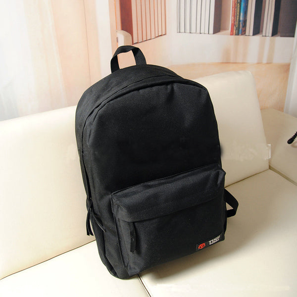 Pure Color Korean Style Flexo Backpack - Meet Yours Fashion - 5