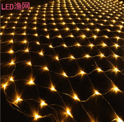 Warm White 100 LED Net Mesh Decorative Fairy Lights Twinkle Lighting Christmas Wedding Party EU