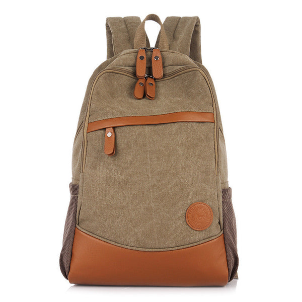 Fashion Korea Casual Style Canvas Computer Backpack - Meet Yours Fashion - 1