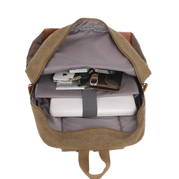 Fashion Korea Casual Style Canvas Computer Backpack - Meet Yours Fashion - 9