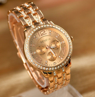 Fashion Business Casual Alloy Watch