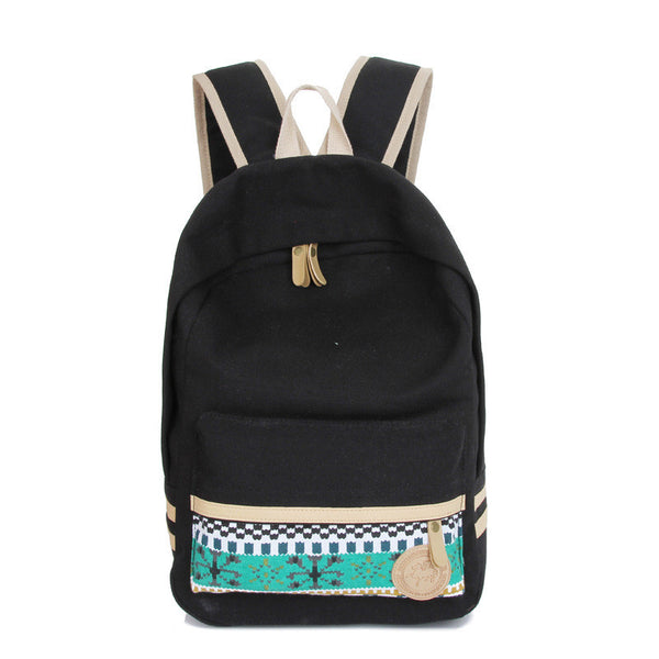 Fashion Street Style Print School Backpack Canvas Bag - Meet Yours Fashion - 5
