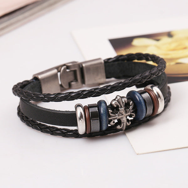 Fashion Beaded Woven Multilayer Bracelet