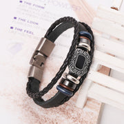 Animation Products Beaded Leather Bracelet