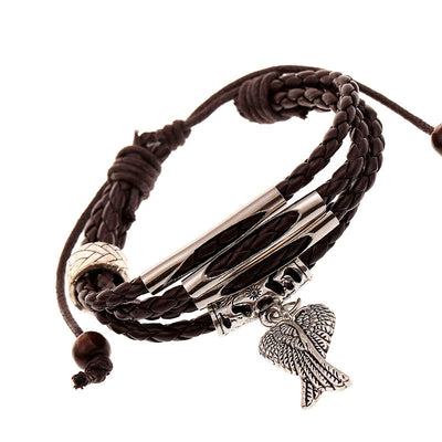 Angel's Wings Multilayer Woven Bracelet