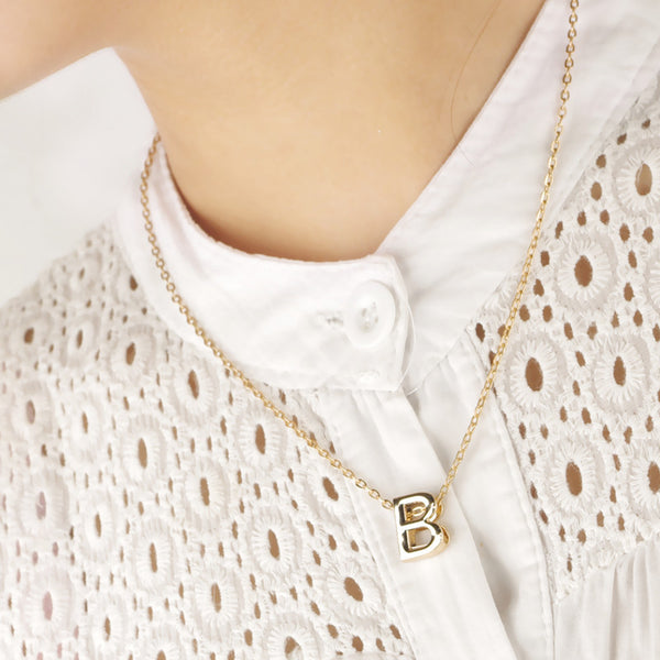 Fashion and Personality English 26 Letters Necklace