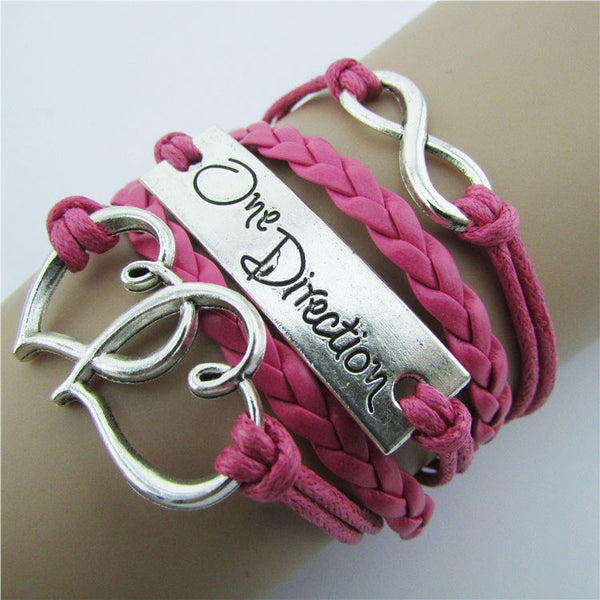 Double Heart Romantic Multicolor Bracelet