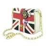 UK Flag Badge Handbag Shoulder Bag - MeetYoursFashion - 1