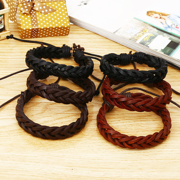 Fashion Braided Leather Bracelet