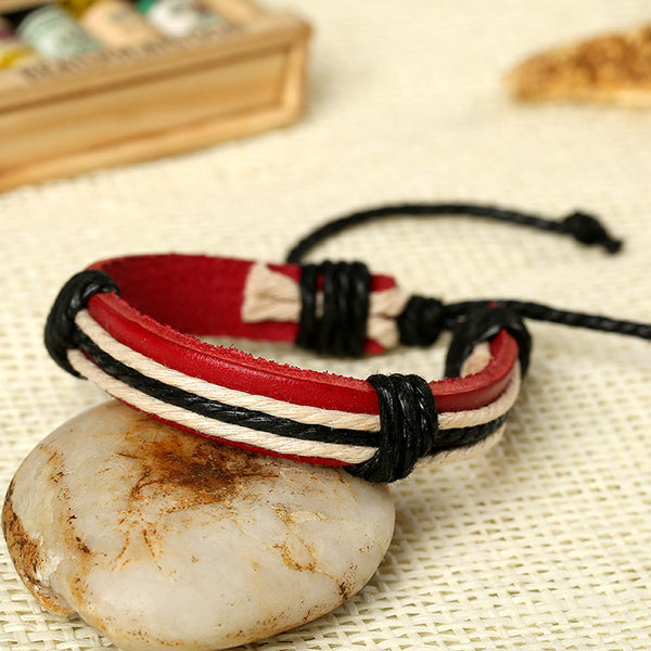 Fashion Adjustable Leather Bracelet