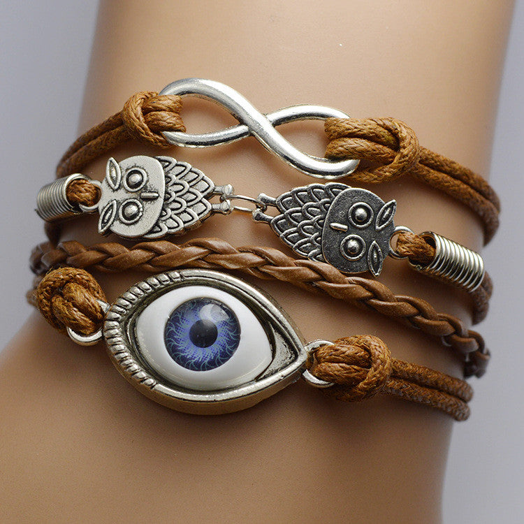 LOVE Eyes Multilayer Bracelet