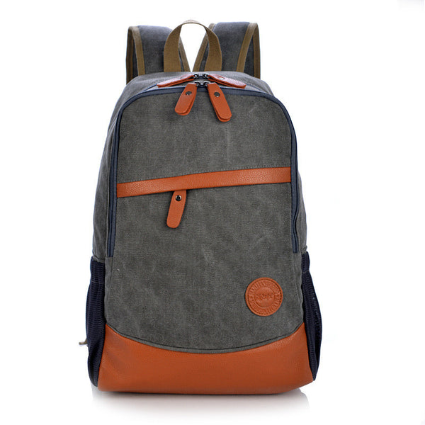 Fashion Korea Casual Style Canvas Computer Backpack - Meet Yours Fashion - 8