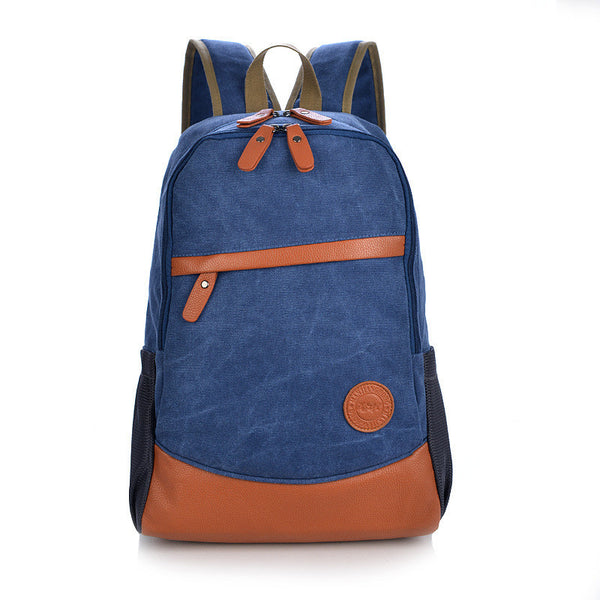 Fashion Korea Casual Style Canvas Computer Backpack - Meet Yours Fashion - 4