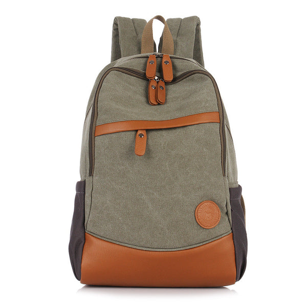 Fashion Korea Casual Style Canvas Computer Backpack - Meet Yours Fashion - 2