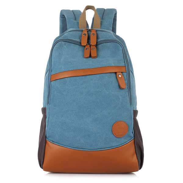 Fashion Korea Casual Style Canvas Computer Backpack - Meet Yours Fashion - 3