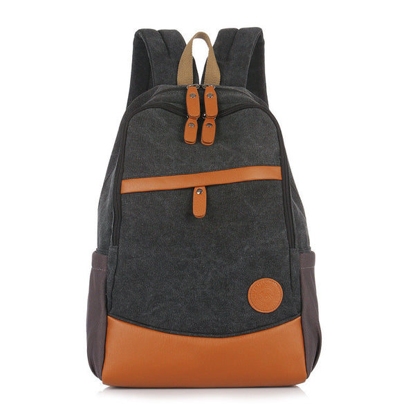 Fashion Korea Casual Style Canvas Computer Backpack - Meet Yours Fashion - 5