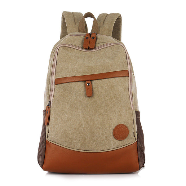 Fashion Korea Casual Style Canvas Computer Backpack - Meet Yours Fashion - 6