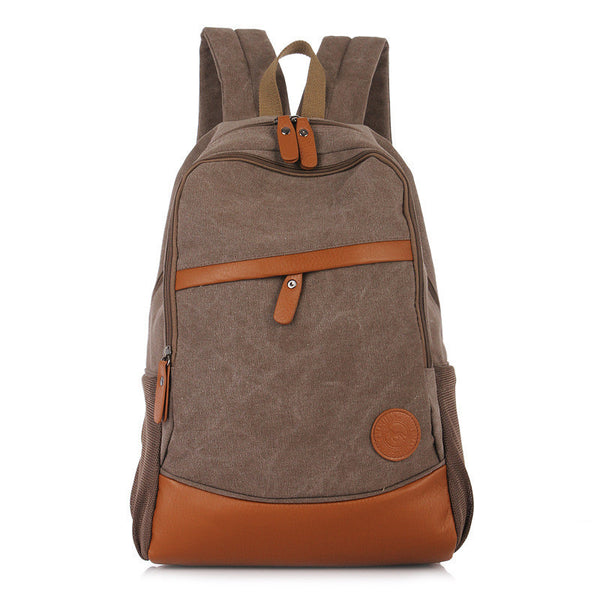 Fashion Korea Casual Style Canvas Computer Backpack - Meet Yours Fashion - 7