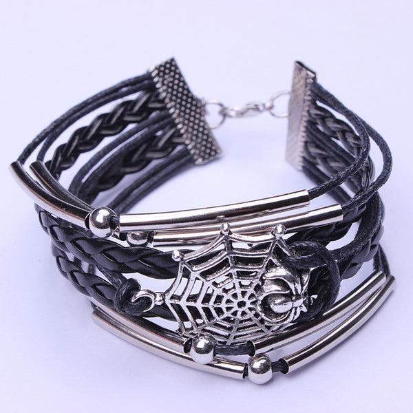Fashion Jewelry Retro Spider Euramerican Bracelet