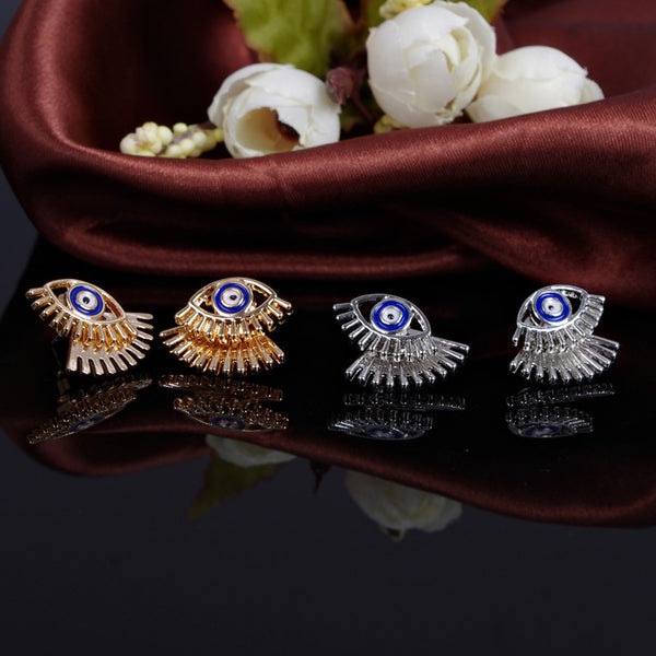 Beautiful Metal Eyes Earrings