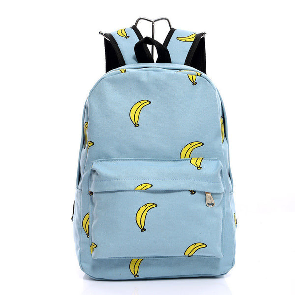 Lovely Korean Canvas Casual Backpack Bag - Meet Yours Fashion - 6