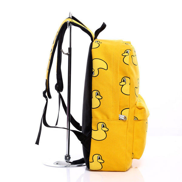 Lovely Korean Canvas Casual Backpack Bag - Meet Yours Fashion - 9