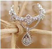 Crystal Water Drop Beautiful Ear Clip