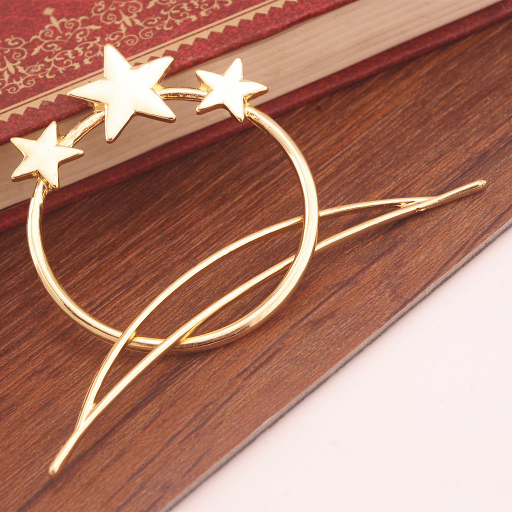 Bohemian Joker Pentagram Stars Braid Up Hair Accessories