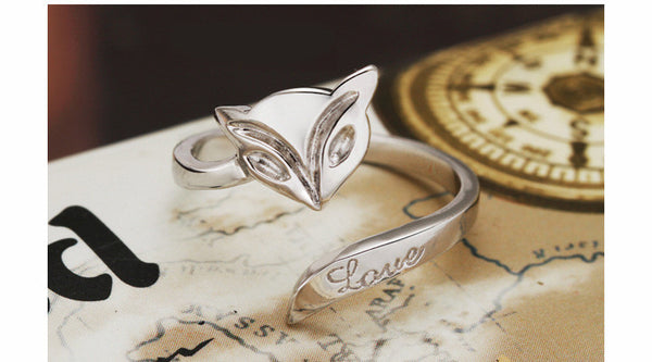 The classic fox ring opening ring