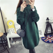 High Knit Student Pullover Upset Long Sweater - Meet Yours Fashion - 3