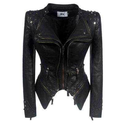 Shoulder Pad Moto Jacket