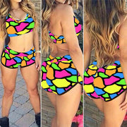 3D Print Sexy Short Bikinis Swearwear - Meet Yours Fashion - 17