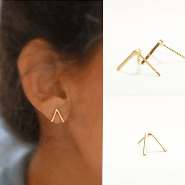 The Letter V Women's Earrings