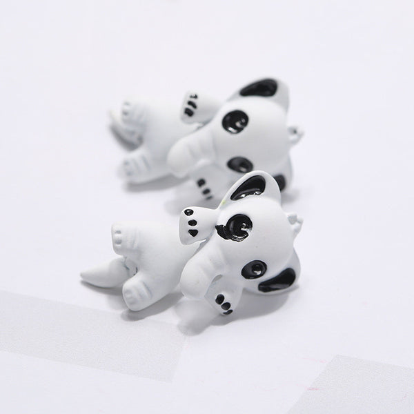 3D Cartoon Animals Through Stud Earrings