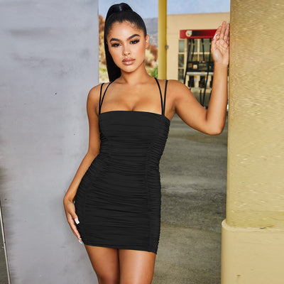 Sexy Sleeveless Bodycon Mini Dress